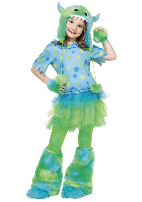 Child Monster Miss Costume