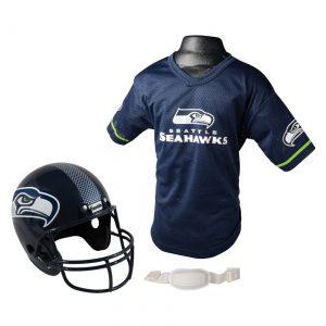 Child NFL Seattle Seahawks Helmet and Jersey Set