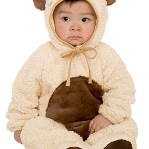 Child Oatmeal Bear Costume