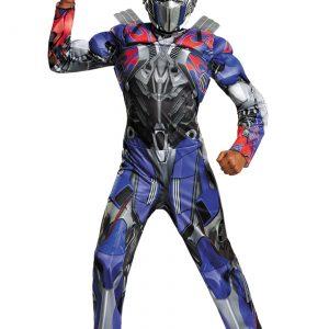 Child Optimus Prime Classic Muscle Movie Costume
