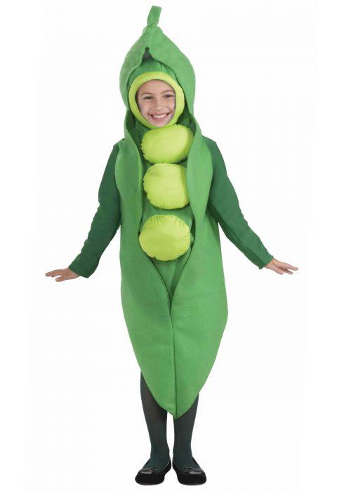 Child Peas Costume
