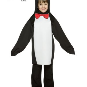 Child Penguin Costume - Lightweight 4-6X