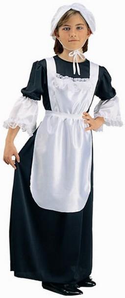 Child Pilgrim Girl Costume