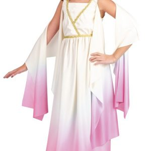 Child Pink Athena Goddess Costume