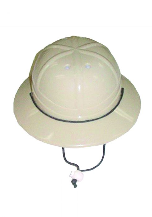 Child Plastic Pith Helmet