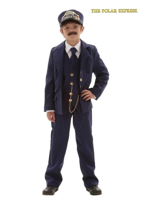 Child Polar Express Conductor Costume