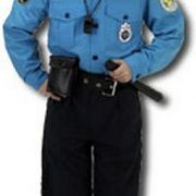 Child Police Costume with hat