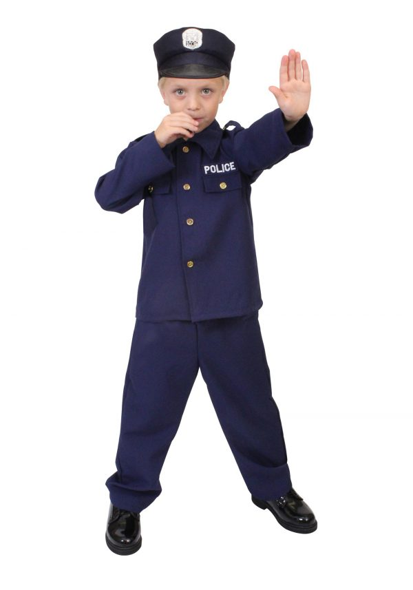 Child Police Officer Costume