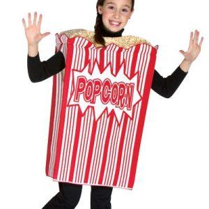Child Popcorn Costume