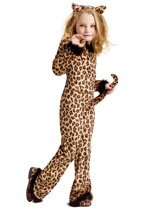 Child Pretty Leopard Costume