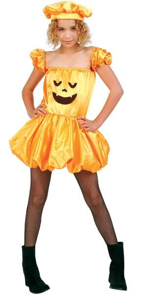 Child Pretty Pumpkin Costume