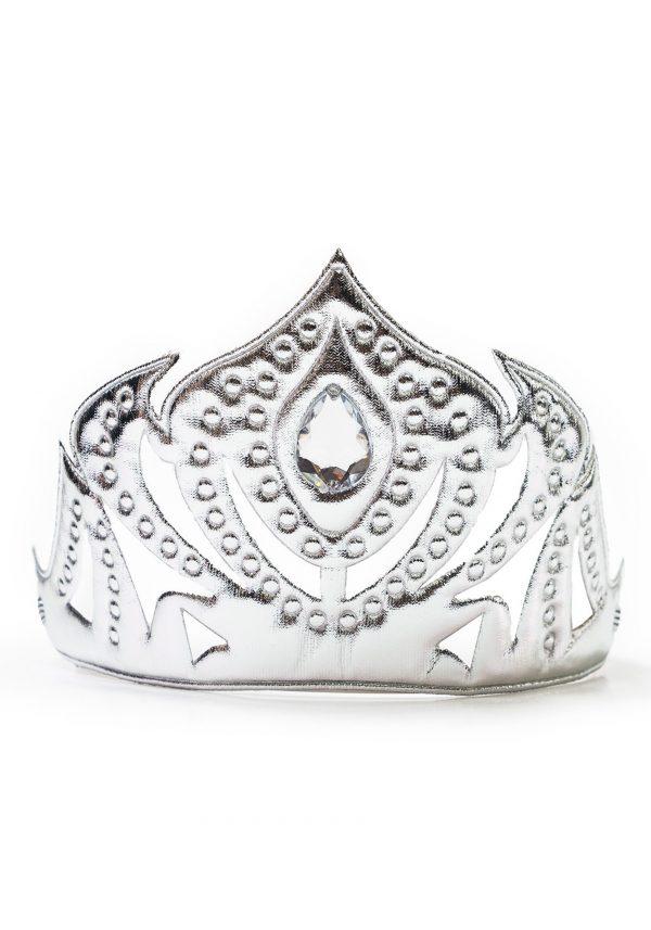 Child Princess Silver Soft Crown