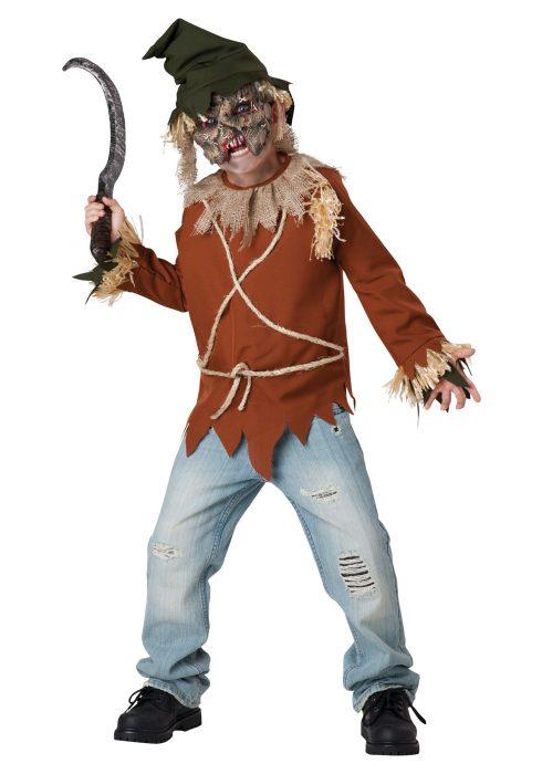 Child Psycho Scarecrow Costume