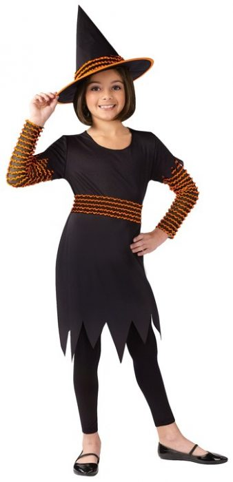 Child Pumpkin Patch Witch Costume
