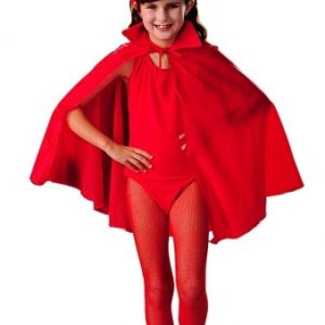 Child Red Devil Cape