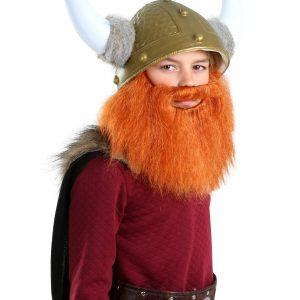 Child Red Viking Beard