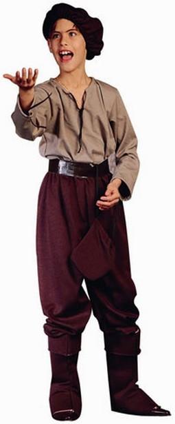 Child Renaissance Peasant Boy Costume