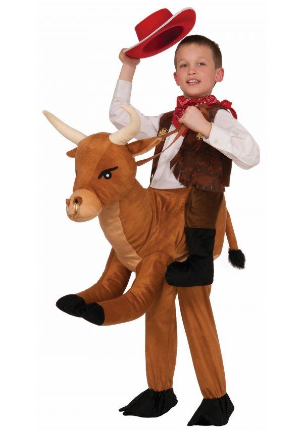 Child Ride A Bull Costume