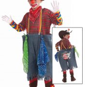 Child Rodeo Clown Costume
