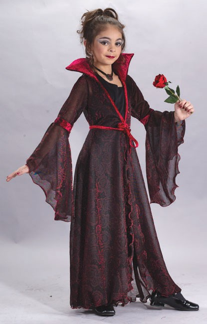 Child Rose Gothic Costume