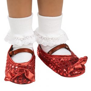 Child Ruby Shoe Covers