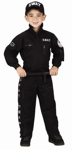 Child SWAT Suit Costume