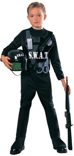 Child SWAT Team Costume