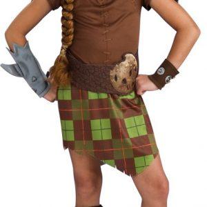 Child Shrek Fiona Warrior Costume