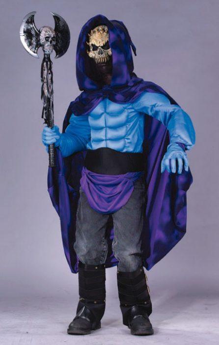 Child Skeleterror Skeleton Costume