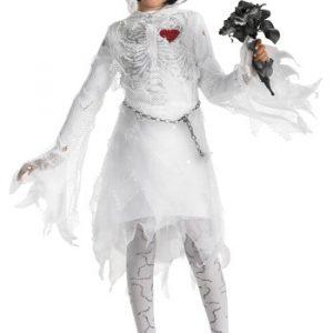 Child Skeleton Bride Costume