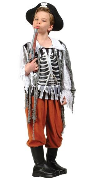 Child Skull Pirate Costume