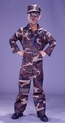 Child Soldier Costume