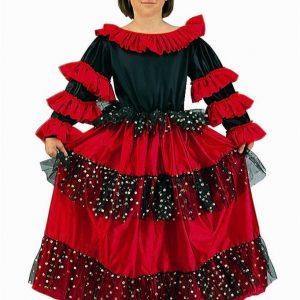 Child Spanish Beauty Costume
