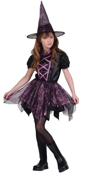 Child Spider Witch Costume