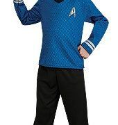 Child Star Trek Blue Shirt Costume