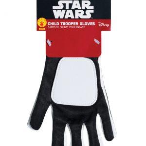 Child Star Wars The Force Awakens Flametrooper Gloves