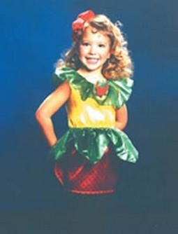 Child Strawberry Costume