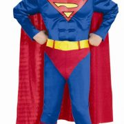 Child Superman Costume - Muscle Chest