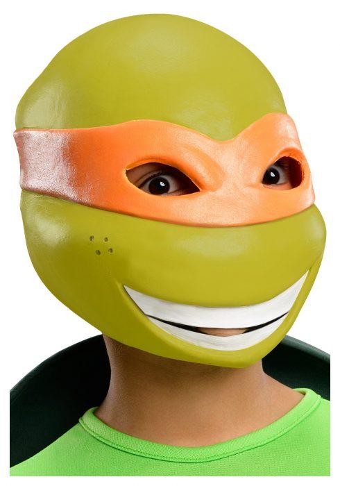 Child TMNT Michelangelo 3/4 Mask