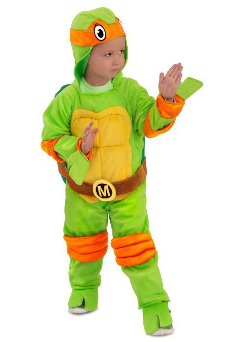 Child TMNT Michelangelo Deluxe Jumpsuit
