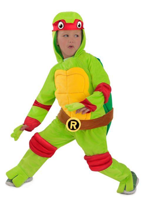 Child TMNT Raphael Deluxe Jumpsuit
