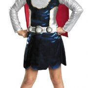 Child Thor Girl Costume