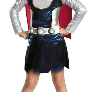 Child Thor Girl Costume