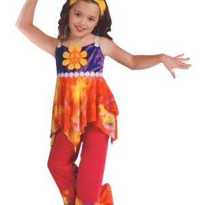 Child Tie Dye Hippie Costume