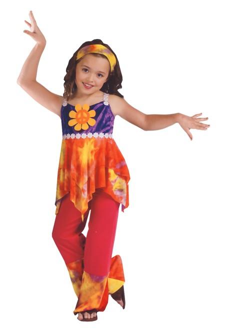 Child Tie Dye Hippie Costume