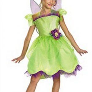 Child Tinkerbell Costume - Rainbow Deluxe