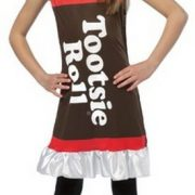 Child Tootsie Roll Costume Dress - 7-10