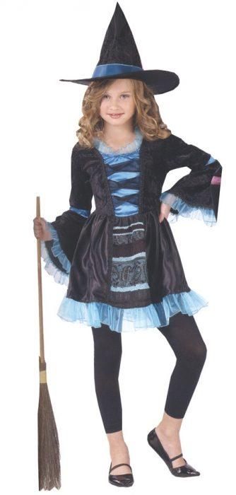 Child Victorian Witch Costume