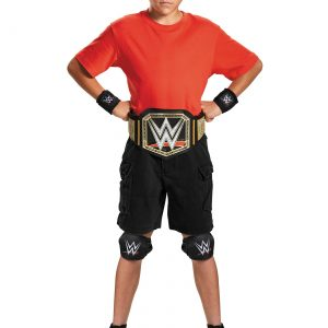 Child WWE Champion Costume Kit
