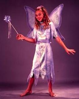 Child Watercolor Fairy Costume